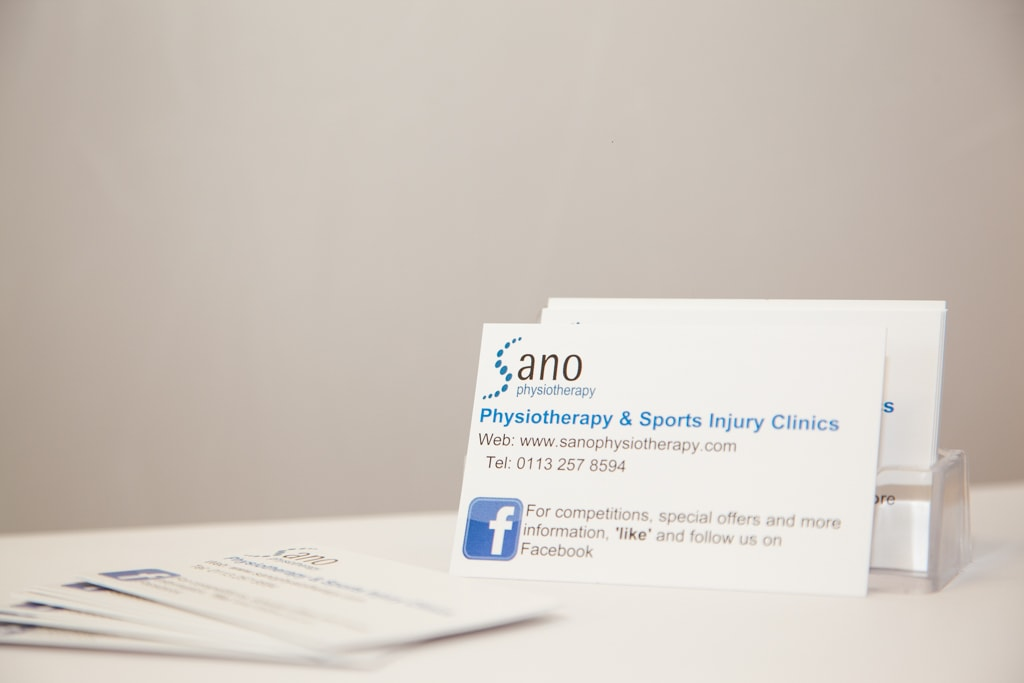 Sano Physiotherapy Treatments
