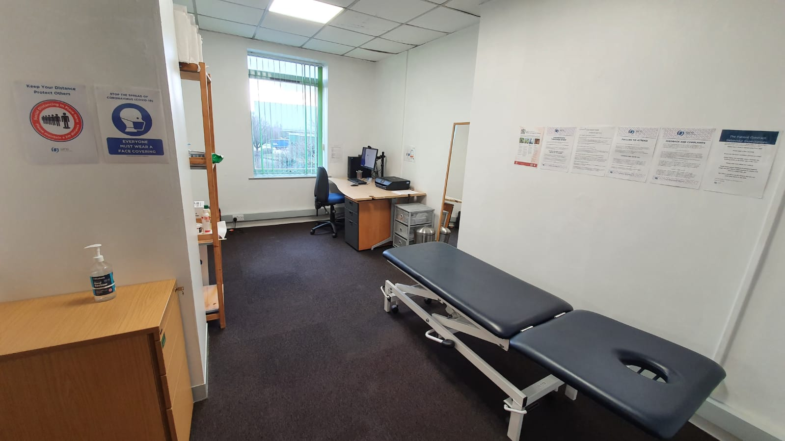 An image of the treatment room