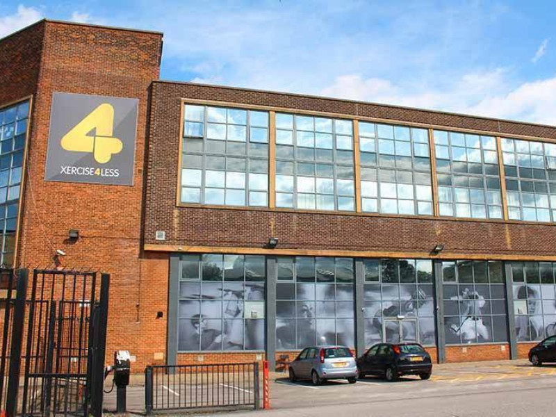 An image showing the exterior of Xercise4Less Bradford where Sano Physiotherapy is based.
