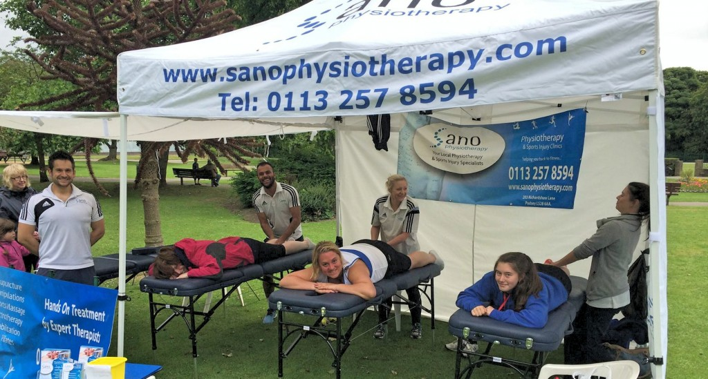 Sano Physiotherapy Team Treat Pudsey 10k Runnders