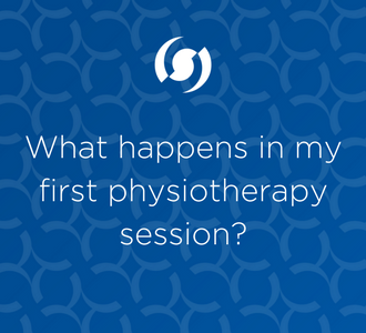 What happens in my first physiotherapy session?
