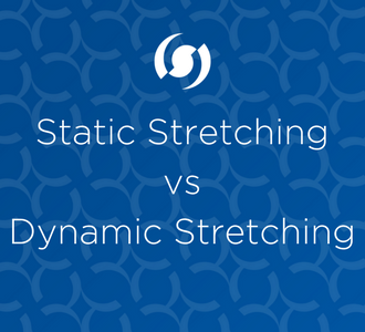 An image showing the Blog title, Static Stretching vs Dynamic Stretching - which is better
